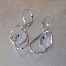 Echte Hakenverschluss-Ohrschmuck ohne Stein für Damen