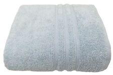 2 X HOTEL QUALITY DUCK EGG BLUE ZERO TWIST COTTON 600 GSM BATH SHEET TOWELS
