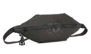 Kipling Yoku Waist Bag/Bum Bag/Crossbody Black + Monkey Charm/Keyring BNWT
