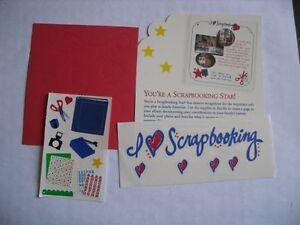 Creative Memories RARE Thank You Gift - Scrapbooking Star