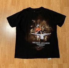 Michael Jackson The Immortal World Tour By Cirque Du Soleil T-Shirt Size XL