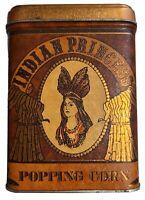 Vintage Tin Indian Princess Popping Corn