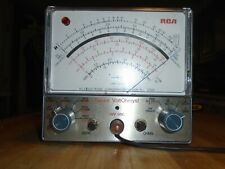 Rca Senior Voltohmyst Wv 98c Vtvm With Probes Recapped Tested Works Great