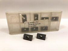 K Tool 10 Mgh 532 X20 New Carbide Inserts 9pcs