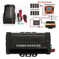 Car Solar Power Inverter 1000W Peak 12VDC To 110VAC Modified Sine Wave Converter