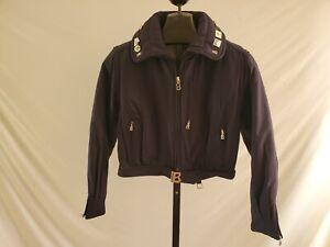 Bogner Navy Blue Ski Snow Jacket Misses Size M