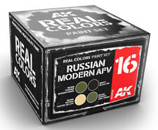 Ak Interactive #Aki-Rcs016 Real Colors: Russian Modern Afv Paint Set