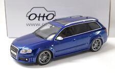 1:18 OTTO Audi RS4 Avant B7 blue NEW bei PREMIUM-MODELCARS