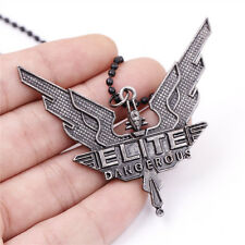 PS4 Game Elite: Dangerous Sign Chain Necklace Pendnat Cosplay Jewelry Gift