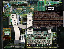 McIntosh C32 Preamp Flat Ribbon Cable Kit Replacement - Last few remaining kits