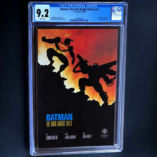 BATMAN THE DARK KNIGHT RETURNS #4 (1986) 💥 CGC 9.2 💥 BATMAN vs. SUPERMAN!