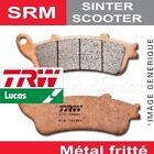 pastillas de freno trasero TRW Lucas MCB 806 SRM para Honda SH 300 i ABS 15