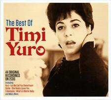 TIMI YURO - THE BEST OF - 44 ORIGINAL RECORDINGS (NEW SEALED 2CD) Hurt,