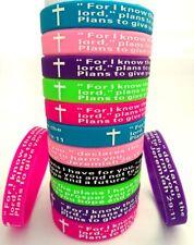 50pcs Color Mix JEREMIAH 2911 silicone bracelets Colorful MEN WOMEN wristband