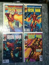 Heroes Return - The Invincible Iron Man 1 2 3 & 4 High Grade Comic Book - B8-153