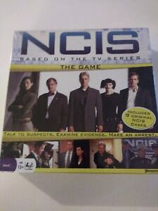 NCIS The Game Based On The TV Series Board Game New & Sealed Pressman 2010