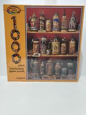 Ceaco 1000 Piece Jigsaw Puzzle 3037 Tea Cups & Glasses Excellent Brand New FreS.