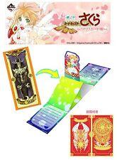Banpresto Ichiban Kuji Cardcaptor Sakura Clow Card Prize G Greeting Card Dark