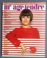►AGE TENDRE 50/1969  MATHIEU- VARTAN - SHEILA - DENEUVE - FRANCE GALL - HARDY