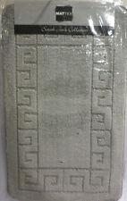 Alfombras de baño rectangulares color principal gris