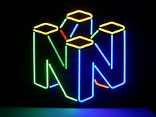"New Nintendo 64 Game Neon Light Sign 20""x16"" Beer Gift Bar Real Glass Artwork"
