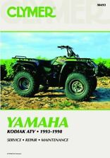 Yamaha Kodiak 93-98 Workshop Manual