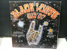 """MAXI 12"""" BLACK WHITE AND CO Action for love / get funk JPLL 12345 BOOGIE FUNK"""
