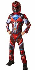 Official Rubie's Power Rangers Movie - Red Ranger Deluxe Childs Costume Large 7