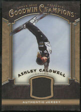 New listing 2014 Upper Deck Goodwin Champions ASHLEY CALDWELL Materials Relic Card #M-AC