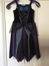 Halloween Girls Fancy Dress Witches Dress Costume, Age 5-6 Years, George