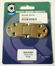 CQUIP Stainless Steel Flush 2 Pin Hinge 83mm x 30mm 10A-81051