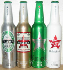 HEINEKEN 4 Alu Bottle cans 2011 Limited Edition set from HOLLAND (47cl)