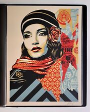Shepard Fairey Fire Sale Print Poster Limited Edition Obey Giant Signed Numbered