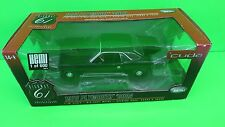 1:18 HIGHWAY 61 50615 1970 PLYMOUTH CUDA 1/600 BLACK EXTREMELY RARE DIECAST CAR