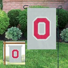 OHIO STATE BUCKEYES Embroidered Garden Window FLAG