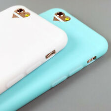 For iPhone5 6S 7 7 Plus Heart Silicone Cute Candy Rubber Gel TPU Case Cover Skin