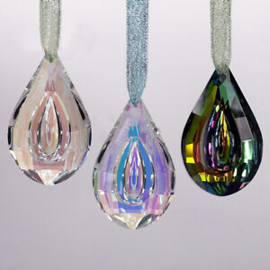 Rainbow Crystal Suncatcher Chandelier Lamp Hanging Pendant Home Accessery Gifts
