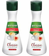 2 x Sucrazit Diabetic Sweetener Total 2400 Tablets Classic Kosher Сoffee Tea