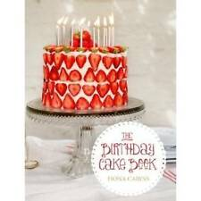 The Birthday Cake Book, Fiona Cairns, New Book