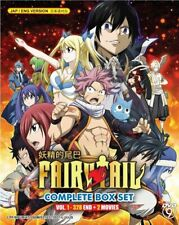 Fairy Tail TV Series Boxset DVD (Episodes 1- 328 end + 2 Movies) with Eng Dubbed