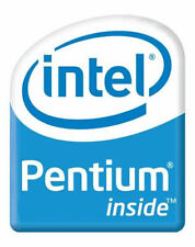 5 x NEW Intel Pentium Inside Sticker. 18mm by 23mm USA Seller