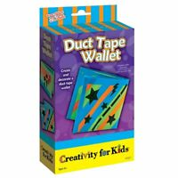 Creativity for Kids - Mini Duct Tape Wallet Kit  - Kids Design Your Own Wallet