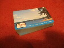 HAMM'S BEER PLAYING CARDS LAND OF SKY BLUE WATERS 52 CARDS NO JOKERS