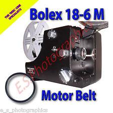 BOLEX 18-6 Dual 8mm Cine Projector Belt (Main Motor Belt)