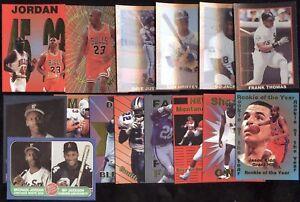PROMO PROTOTYPE SAMPLE NFL FOOTBALL NBA BASKETBALL MLB BASEBALL CARD SEE LIST