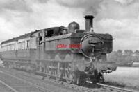 PHOTO  GWR 54XX NO 5424 1950 AT KINGS SUTTON RAILWAY STATION BANBURY - PRINCES R