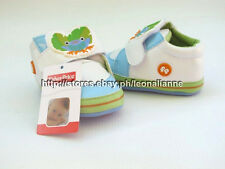 54% OFF AUTH FISHER PRICE BABY BOY'S SHOES BARID SZ 1 / 0-4 mos BNEW IN BOX
