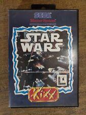 Sega Master System Star Wars Kixx Version-Boxed & komplett PAL