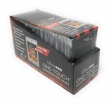 25 Ultra Pro ONE TOUCH MAGNETIC 35PT BLACK BORDER UV Card Holder Display