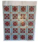 Wonderful 20th Cent painted geometric textile design 5716
